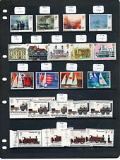 Sc# 736 to 764 Mnh 54 stamps 1975 dealers stock page