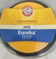 Arm and Hammer Odor Eliminating 65318 & 79902 Hepa Vacuum Filter Eureka DCF-20