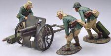 THOMAS GUNN WW2 PACIFIC RS031B JAPANESE 75MM ARTILLERY SET KHAKI UNIFORMS MIB