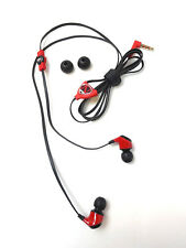 Genuine Monster NCredible NErgy In-Ear Headphones Sport Earbuds Earphones RED