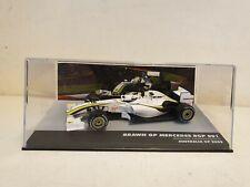 ixo / altaya / F1 - 2009 BRAWN GP BGP001 - R. BARRICHELLO - 1/43 SCALE MODEL CAR
