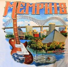 HARD ROCK CAFE MEMPHIS V17 CITY TEE T-SHIRT SIZE ADULT X-LARGE - NEW WITH TAGS