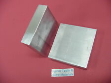 "2 pieces 1/2""x 5"" ALUMINUM 6061 Flat Bar 5"" LONG T6511 Plate Extruded Mill Stock"