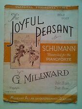 THE JOYFUL PEASANT SCHUMAN SOLO PIANOFORTE G. MILLWARD CLASSICAL FRAGMENTS No.4
