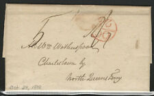 Great Britain, 1800 Stampless Cover, with Letter and Bishop Mark - Oct. 25, 1800