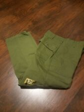 T-206 True Vintage Military pants, fatigues 30×29 used Od