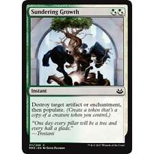 * FOIL * MTG Sundering Growth NM - Modern Masters 2017