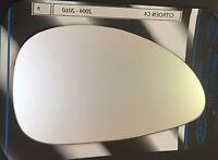 4x Acero Inoxidable Fundas para Espejo Retrovisor Lateral DAF XF 95//105 Camión