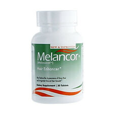 Melancor Hair Vitamin Stop Gray Hair, Reduce Premature white Hair for men, women