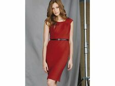 Scoop Neck Patternless Formal Plus Size Dresses for Women