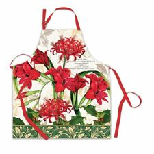 Michel Design Works CHRISTMAS PARTY Cotton Chef/'s Apron Bee Hive NEW