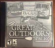 Great Outdoors Pack PC Hunting Unlimited USA Bass Championship Deers Revenge