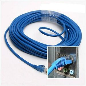 Ethernet Internet RJ45 Network LAN Cable Cord Wire Male To Male Connector
