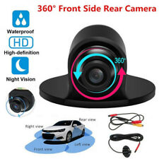 360° Car Rear Front Side View Backup Reversing Camera HD CCD CMOS Night Vision