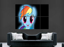 MY LITTLE PONY RAINBOW DASH KIDS  HUGE LARGE WALL ART POSTER PICTURE