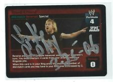 Spike Dudley Signed 2003 WWE Raw Deal Game Card