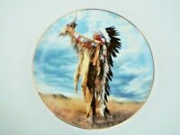 Limited Edition Franklin Mint Prayer to the Great Spirit Collector's Plate Calle