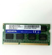 ADATA 4GB Laptop 2Rx8 PC3-12800S-11 AM1U16BP2-B19H