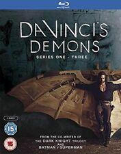 DA VINCI'S DEMONS 1-3 (2013-2015) COMPLETE Leonardo TV Season Series - BLU-RAY