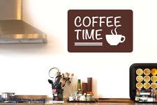 Coffee Time Wall Sticker