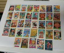 Lot of 37 Garbage Pail Kids Cards / Stickers