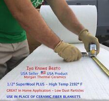 12 Superwool 24x48 Thermal Ceramics Fiber Blanket Appliances Inhome Use 2192f