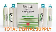 VPS Vinyl Polysiloxane Light Body Fast Set 4 x 50ml Cartridges Dental Impression