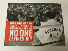 RARE MUHAMMAD ALI 2007 COLLECTIBLE LICENSING PROMOTIONAL INSPIRATIONAL BOOKLET