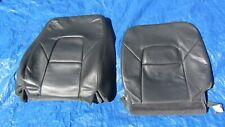 1999-2003 Volvo S80 Base 2.9L OEM Charcoal Driver Left Side Leather Seat Covers