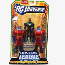 "DC Universe_Justice League Unlimited_GREEN LANTERN_MANHUNTER ROBOT 3.75"" figures"