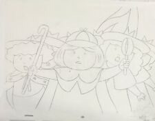 MADELINE Original Animation Production Art Drawing DIC Ent