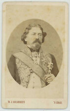 CDV. Guillaume II de Hollande. Photographe Grammann à La Haye. Pays-Bas.