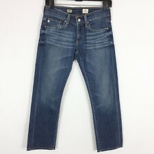 AG Adriano Goldschmied Jeans Women's Size 25 Tomboy Crop Relaxed Straight Dark