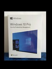 MICROSOFT WINDOWS 10 PRO - New Sealed UK Commercial Retail Boxed ( HAV-00060 )