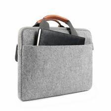 iPad Pro 12.9 Sleeve Case Shockproof Zipper Large Storage Handle Bag Light Gray