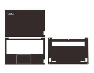 "Carbon fiber Sticker Skin Cover for 2020-2021 Lenovo Yoga Slim 7 7i Carbon 13.3"""