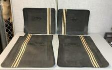 Vintage 1965 1966 1967 1968 Rubber 4 Piece Floor Mats Set for FORD Mustang