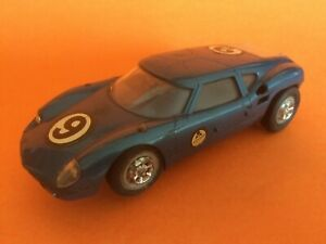 MONOGRAM 1/32 LOLA GT 60's WITH BRASS CHASSIS Slot Car 1:32 Vintage