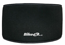 MOTORCYCLE NEOPRENE WAIST WARMER BLACK PROTECTS LOWER BACK FROM COLD WHEN RIDING