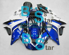 Blue INJECTION Fairing Bodywork Plastic Fit Yamaha YZF-R1 2000-2001 014 A6