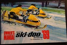 VINTAGE 1969 SKI-DOO OLYMPIC SNOWMOBILE OWNERS MANUAL BRAND NEW
