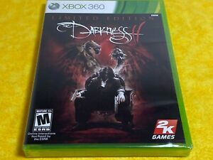 The Darkness II Limited Edition GAME Microsoft Xbox 360 2012 NEW NEVER OPEN 2K !