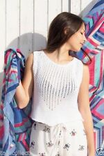 Hand-wash Only Sleeveless Knit Tops & Blouses for Women