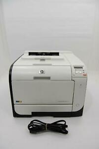 HP LaserJet Pro 400 Color M451nw Laser Network Printer PAGE COUNT 55,682