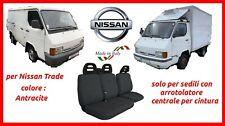Coprisedili Nissan Trade con arrotolatore fodere trapuntate grigio antracite