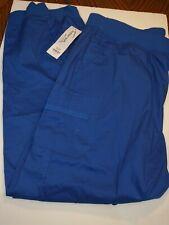 Butter-Soft Scrubs by Ua Women's Plus Full Elastic Waist Pants Cd4 Blue Size 2X