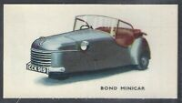 KELLOGGS-MOTOR CARS (COLOURED)-#28- BOND MINICAR