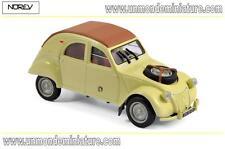 Citroën 2 CV 4x4 Sahara de 1961 Panama Yellow  NOREV - NO 150011 - Echelle 1/43