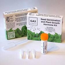GA3 Gibberellic Acid Seed Germination and Plant Growth Hormone Kit