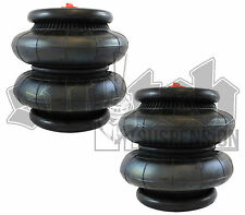 Air Spring 2600 lb Air Suspension 1/2 npt 250 psi Universal Air Bag Pair